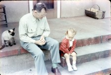 Grandpa and me, a long time ago.